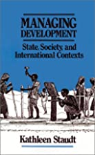 Managing Development: State, Society, and…