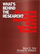 What's Behind the Research?: Discovering…