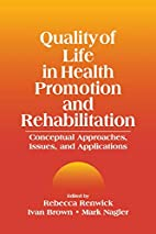 Quality of life in health promotion and…