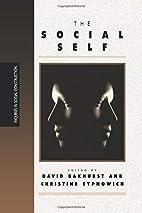The Social Self by David Bakhurst