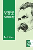 Nietzsche, Politics and Modernity…