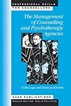The Management of Counselling and…