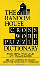 Random House Crossword Puzzle Dictionary by…