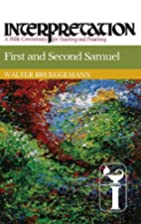 First and Second Samuel by Walter…