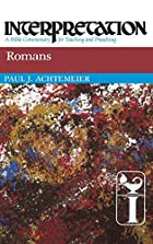 Romans by Paul J. Achtemeier