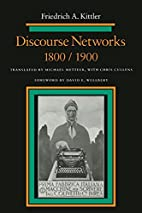 Discourse Networks, 1800/1900 by Friedrich…