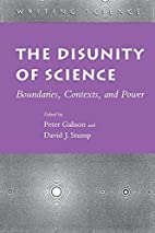 The Disunity of Science: Boundaries,…