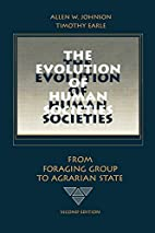 The Evolution of Human Societies: From…