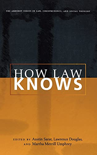 how-law-knows-the-amherst-series-in-law-jurisprudence