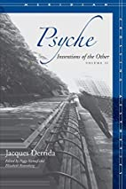 Psyche: Inventions of the Other, Volume II…