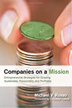 Companies on a Mission: Entrepreneurial…