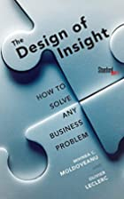 The Design of Insight: How to Solve Any…