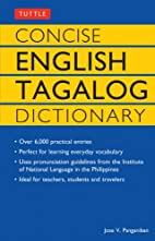 Concise English Tagalog Dictionary (Tuttle…