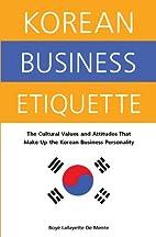 Korean Business Etiquette: The Cultural…