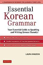 Essential Korean Grammar: Your Essential…