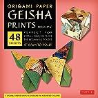 Origami Paper - Geisha Prints - Large 8 1/4…