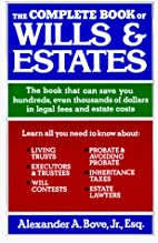 The complete book of wills & estates by…