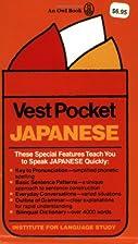 Vest Pocket Japanese by Takeshi Hattori