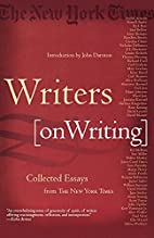 Writers on Writing: Collected Essays from…