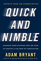 Quick and Nimble: Lessons from Leading CEOs…