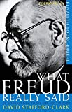 Stafford-Clark, David: What Freud Really Said