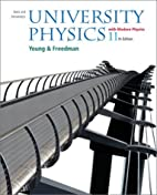 University Physics by Hugh D. Young
