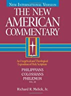 Philippians, Colossians, Philemon by Richard…