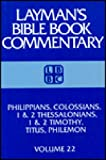 Tolbert, Malcolm O.: Philippians, Colossians, 1 & 2 Thessalonians, 1 & 2 Timothy, Titus, Philemon