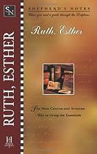 Ruth, Esther by Robert Lintzenich