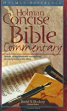 Holman Concise Bible Commentary by David S.…