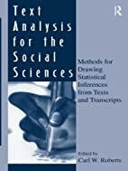 Text Analysis for the Social Sciences:…