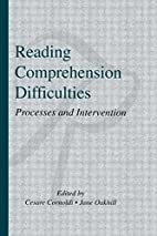 Reading Comprehension Difficulties:…