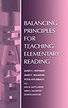 Balancing Principles for Teaching Elementary…