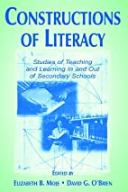 Constructions of Literacy: Studies of…