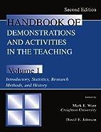 Handbook of Demonstrations and Activities in…