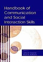 Handbook of Communication and Social…