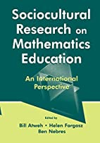 Sociocultural Research on Mathematics…