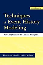 Techniques of Event History Modeling: New…