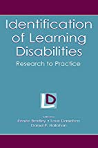 Identification of Learning Disabilities:…