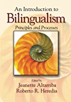 An Introduction to Bilingualism: Principles…