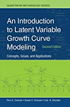 An introduction to latent variable growth…