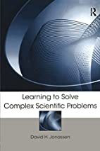 Learning to Solve Complex Scientific…