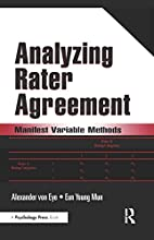 Analyzing Rater Agreement: Manifest Variable…