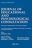 Implementation of Prevention Programs 2000 A Special Issue of the Journal of