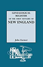 A Genealogical Register of the First…