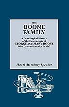 The Boone Family by Hazel Spraker