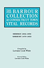 The Barbour Collection of Connecticut Town…