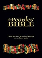The Peoples' Bible by Curtiss Paul…