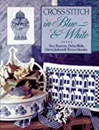 Cross-Stitch in Blue & White by Trice…