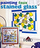 Painting Faux Stained Glass by Plaid